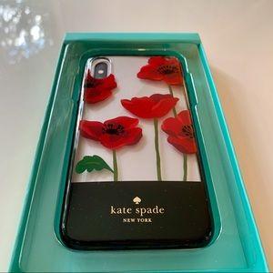 Kate Spade Poppy Resin Comold iPhoneX Case